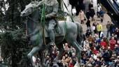 vista previa del artículo Retirada la estatua de Franco de Santander