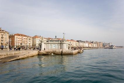 Santander,  paseo marítimo