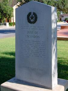 Monumento a Jose de Escandón