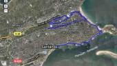 vista previa del artículo Mapa del carril bici de Santander