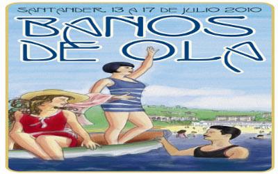 Cartel Baños de Ola 2010