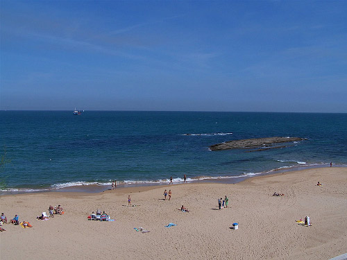 Vista Playa de la Concha