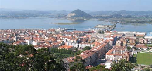 Vista de Santoña
