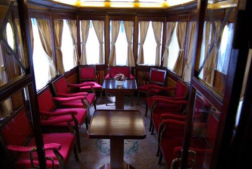 Interior del Tren Historico