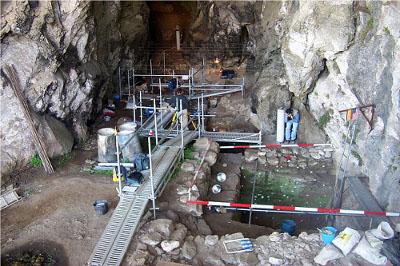 Excavacion en el Miron