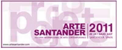 Cartel ArteSantander 2011