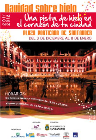 Las pistas de hielo para unas navidades en Cantabria