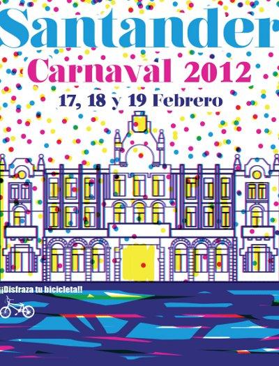 Preparativos de los Carnavales en Santander
