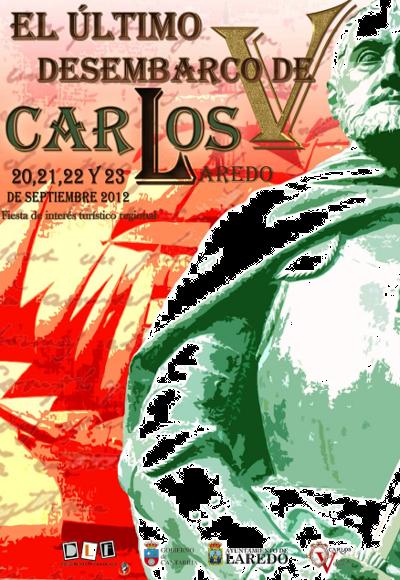 El Desembarco del Emperador Carlos V en Laredo.