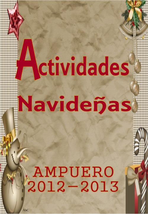 Actividades navideñas en Ampuero