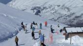 vista previa del artículo Un puente de nieve en Cantabria