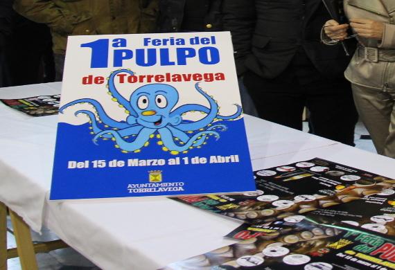I Feria del Pulpo en Torrelavega