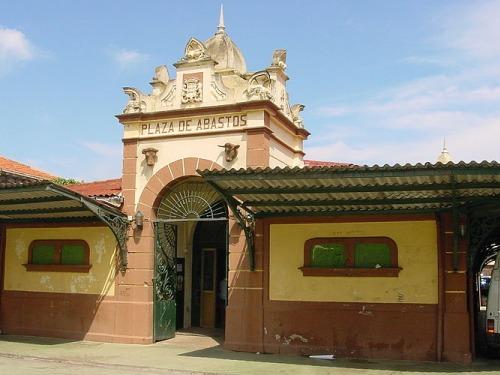 Mercado en Santoña