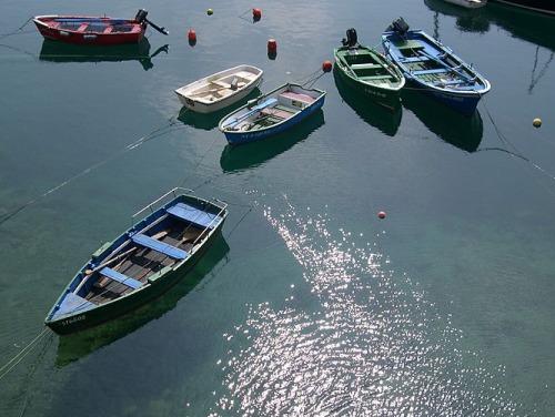 Barcos en San Vicente